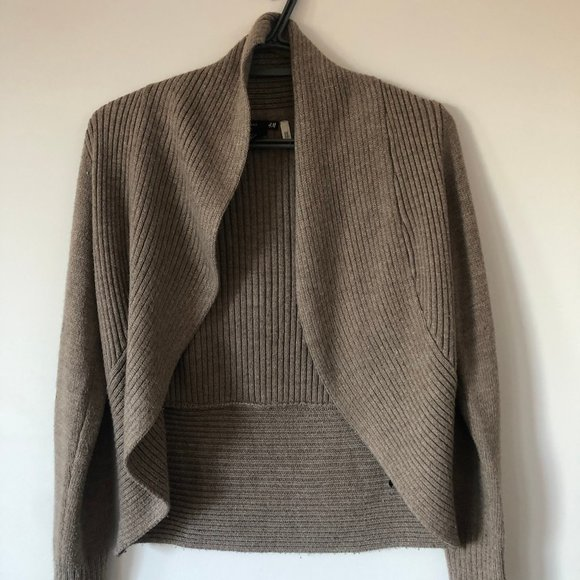 Open Sweater Cardigan |  H&M